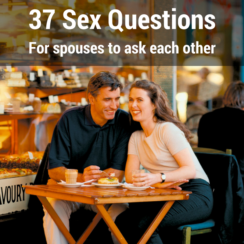 Sexual questions to ask a date