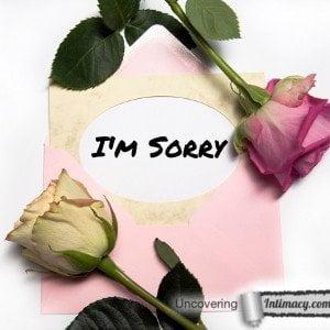 I'm sorry isn't good enough
