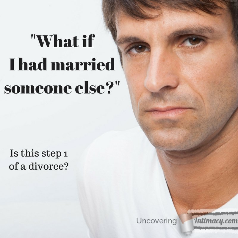 What if I had married someone else?
