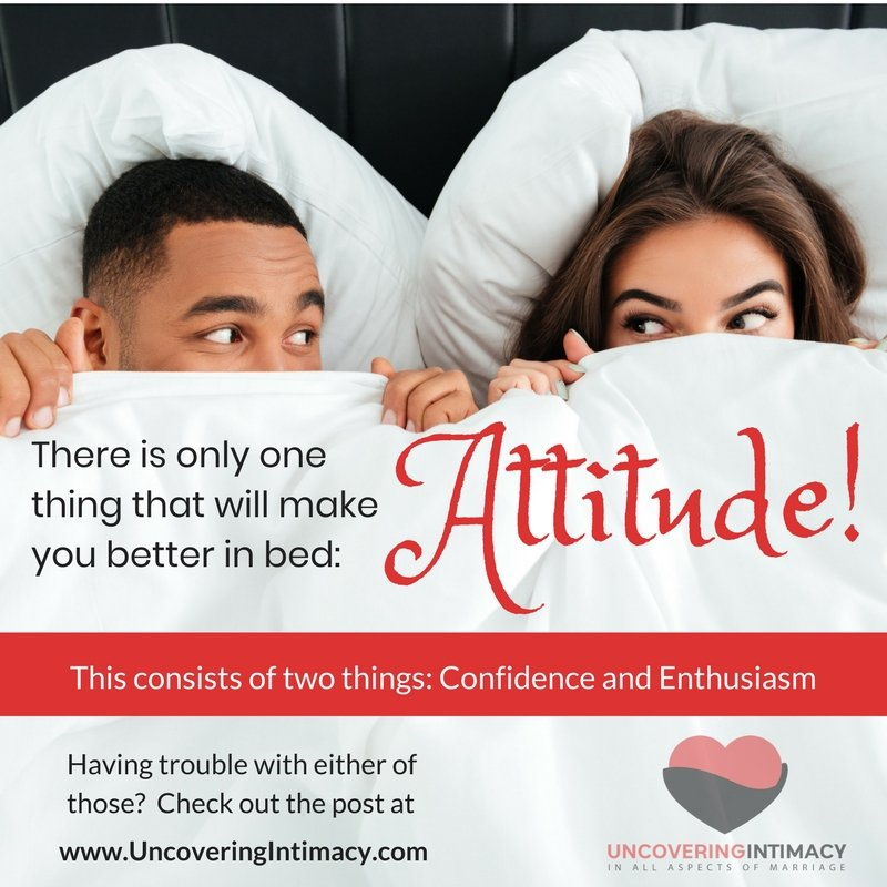 The one thing that will make you better in bed