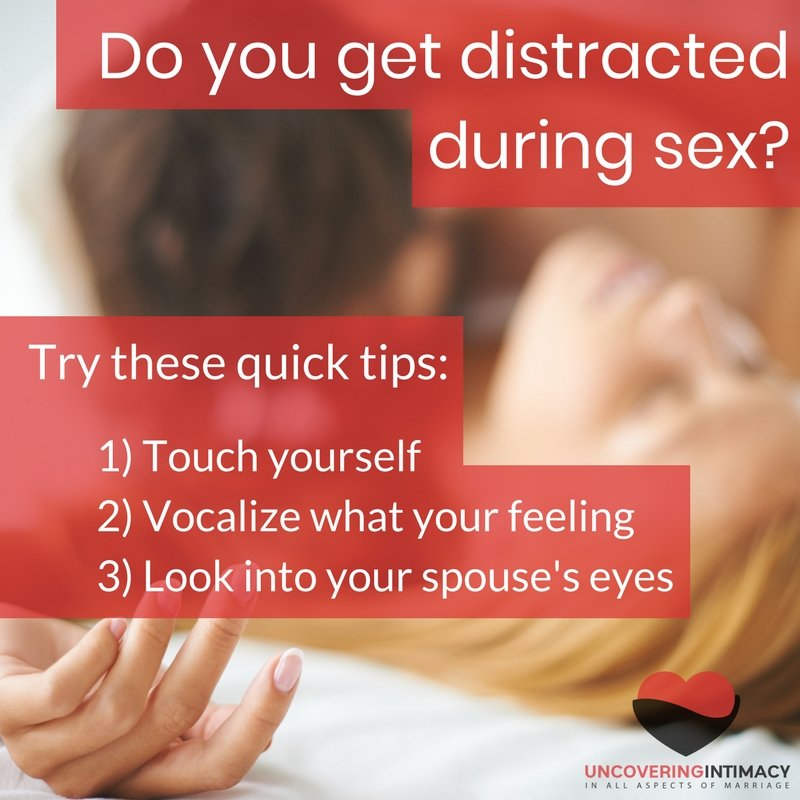 3 tips to staying focused during sex