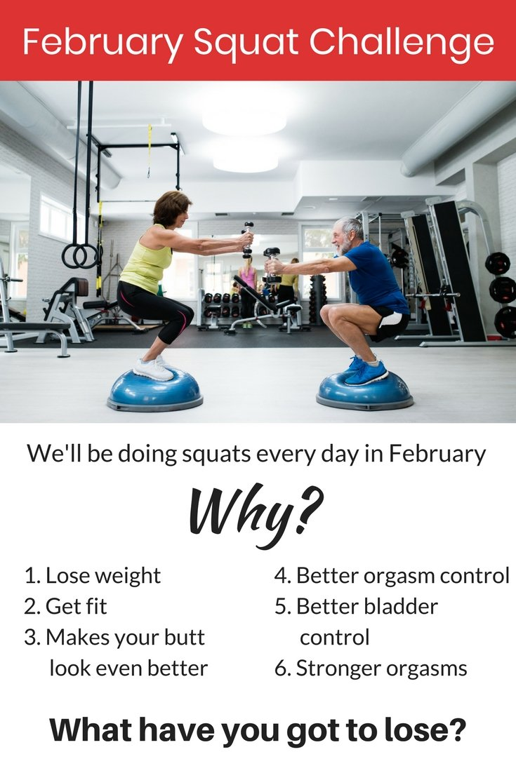 September Kegel/Squat Challenge