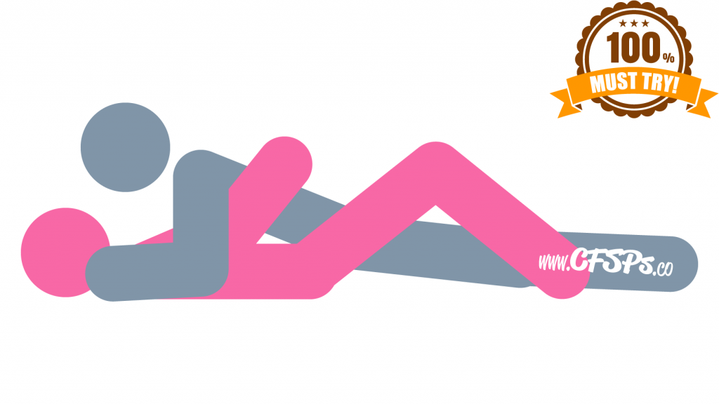 Missionary position - this is a sex position with the man on top and the woman on the bottom, facing each other.  The missionary sex position has a lot of benefits, including face to face intimacy, lots of skin touching, and clitoral stimulation.